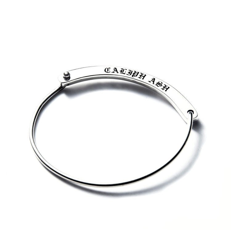 C.A VICTIMA SILVER BANGLE (FOR WOMAN)
