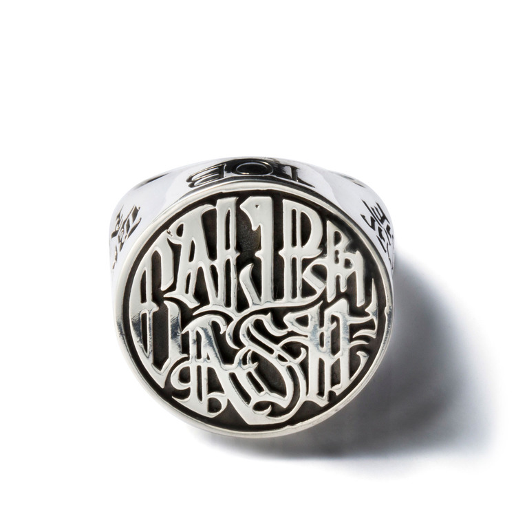 CALIPHASH SILVER RING (SIZE 26)