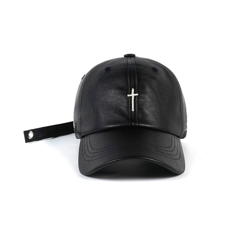 STIGMA X CALIPHASH  LEATHER BALL CAP