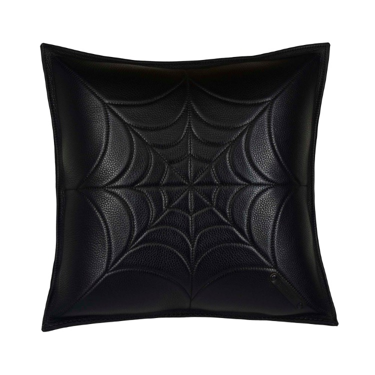 SPIDER WEB LEATHER CUSHION