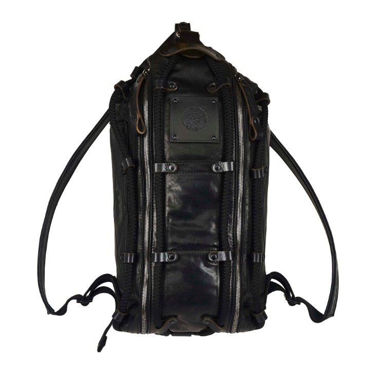 ROPE LEATHER BACK BAG