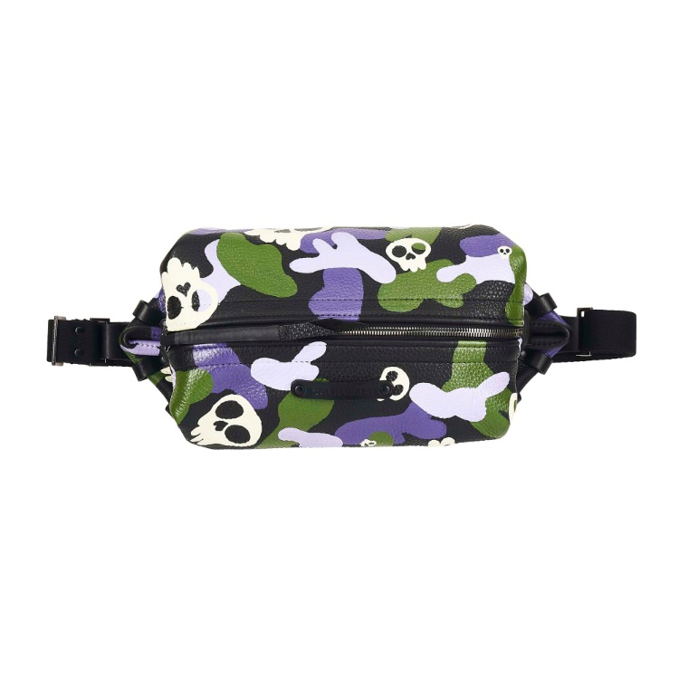 CALIPHASH X MINA KWON SKULL SLING BAG