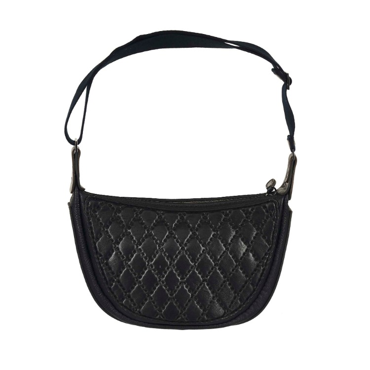DIAMOND EMBO CROSS BAG