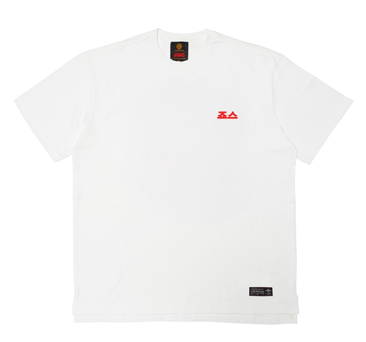 [CALIPHASH X UNIVERSAL] JAWS POP ART T-SHIRT(WHITE)